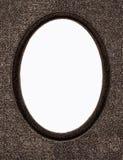 Marco de la foto de la vendimia aislado en blanco Imagen de archivo libre de regalías