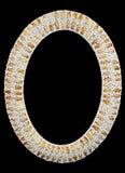 Marco de la foto de los Seashells Imagen de archivo libre de regalías
