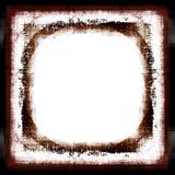 Marco de la frontera de Grunge Imágenes de archivo libres de regalías