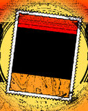 Marco de la frontera de la historieta Foto de archivo libre de regalías