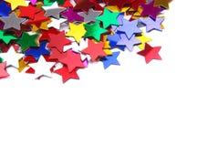 Marco de la frontera del confeti Imágenes de archivo libres de regalías