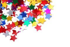 Marco de la frontera del confeti Imagen de archivo libre de regalías