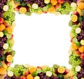 Marco de la fruta Fotos de archivo libres de regalías