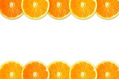 Marco de la fruta cítrica Imágenes de archivo libres de regalías
