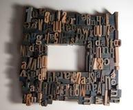 Marco de la impresión Fotos de archivo libres de regalías