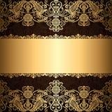 Marco de la joyería del oro libre illustration