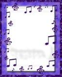 Marco de la música de Digitaces Imagen de archivo