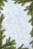 Marco de la Navidad fotografía de archivo