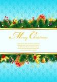 Marco de la Navidad Imágenes de archivo libres de regalías
