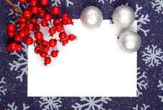 Marco de la Navidad fotos de archivo libres de regalías