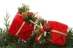 Marco de la Navidad Fotos de archivo