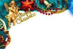 Marco de la Navidad Foto de archivo