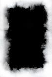 Marco de la nube de humo imagenes de archivo