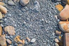 Marco de la piedra de la textura del fondo Fotografía de archivo libre de regalías