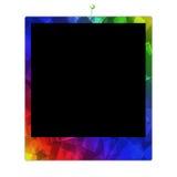 Marco de la polaroid del color Stock de ilustración