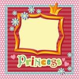 Marco de la princesa Fotos de archivo libres de regalías