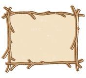 Marco de la ramita Imagen de archivo libre de regalías