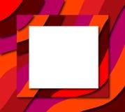 Marco de la raya del color Fotos de archivo libres de regalías