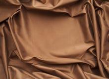 Marco de la seda del chocolate imagenes de archivo