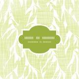 Marco de la textura de la materia textil de las hojas del verde inconsútil Imagen de archivo
