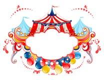 Marco de la tienda de circo Foto de archivo libre de regalías
