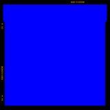 Marco de la tira de la película del RGB Imagen de archivo