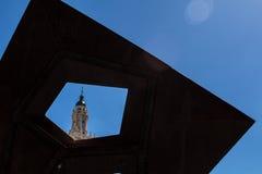 Marco de la torre Fotos de archivo libres de regalías