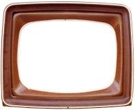 Marco de la TV Foto de archivo libre de regalías