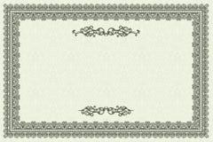 Marco de la vendimia Imagen de archivo