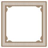 Marco de la vendimia Imagenes de archivo