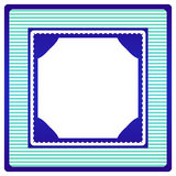 Marco de la vendimia Imágenes de archivo libres de regalías