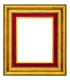 Marco de la vendimia del oro Imagen de archivo
