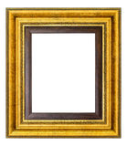 Marco de la vendimia del oro Foto de archivo
