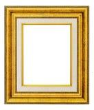 Marco de la vendimia del oro Imagenes de archivo