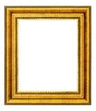 Marco de la vendimia del oro Foto de archivo libre de regalías