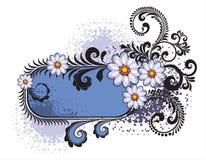 Marco de las flores Foto de archivo
