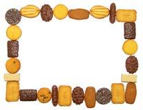 Marco de las galletas Imagen de archivo libre de regalías