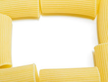 Marco de las pastas. Imagen de archivo libre de regalías