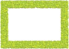 Marco de las pelotas de tenis stock de ilustración