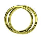 Marco de los anillos Imágenes de archivo libres de regalías