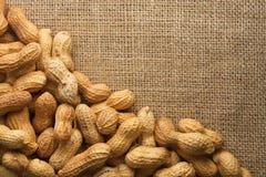 Marco de los cacahuetes Fotos de archivo