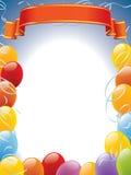 Marco de los globos ilustración del vector