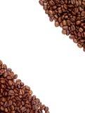 Marco de los granos de café (fondo) Fotos de archivo libres de regalías