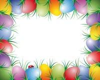 Marco de los huevos de Pascua ilustración del vector