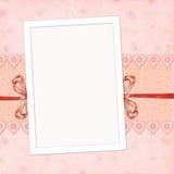Marco de los niños para la muchacha Imagen de archivo libre de regalías