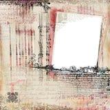 Marco de lujo de la frontera del Flourish Imágenes de archivo libres de regalías