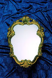 Marco de lujo del espejo Fotos de archivo