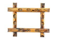 Marco de madera Foto de archivo libre de regalías