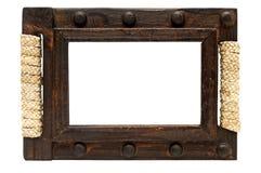 Marco de madera. Imagenes de archivo