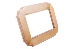 Marco de madera Fotografía de archivo